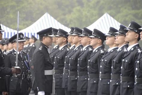Immigration Services Officer by Director Of Immigration Inspects Passing Out Parade With