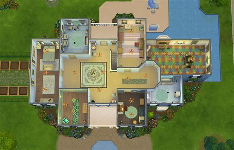 sims 1 house plans the sims floor plans