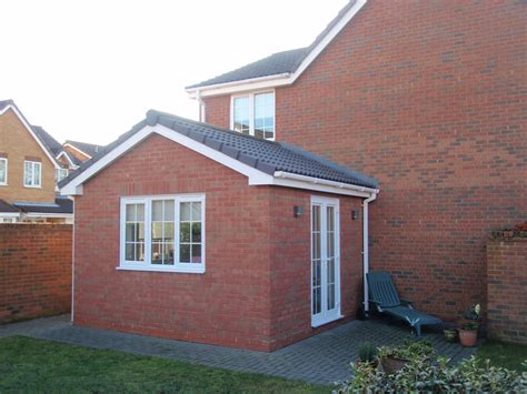 single storey side extension to form children s playroom