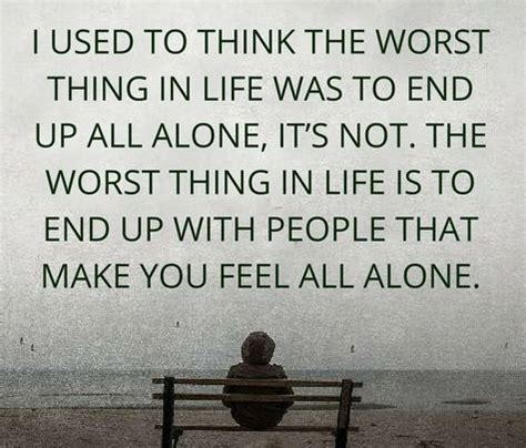 I Used To Be All - top 100 being alone quotes and feeling lonely sayings