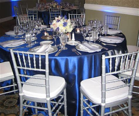 black blue and silver table settings jean marks weddings a timeline in pictures