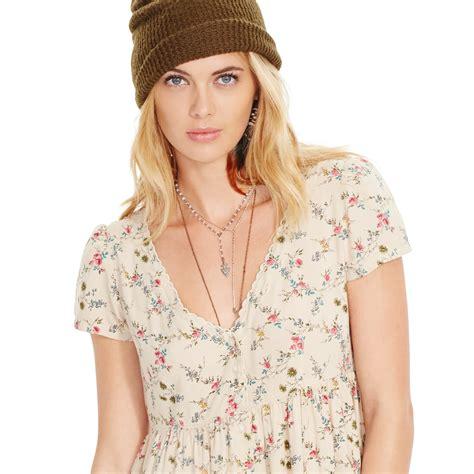 Supplier Neptune Dres By Galeri floral button front dresses other dresses dressesss