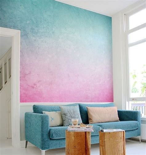Ideas For Apartment Walls 22 Diy Painted Ombre Wall For Apartment Decor Ideas Livingmarch