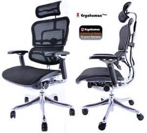 Ergonomic Mesh Office Chair Ergohuman Plus Mesh Office Chair Ergonomic In Design With