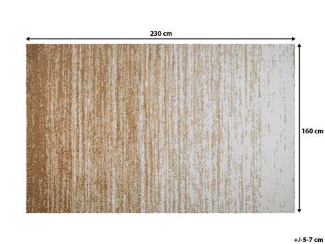 Tapis Rectangulaire Beige by Tapis Rectangulaire En Microfibre Beige 160 X 230 Cm Meral