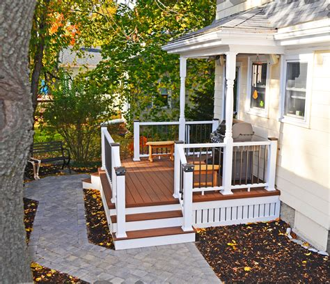 porch deck front porches a pictorial essay suburban boston decks and porches