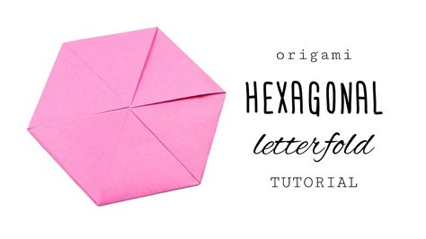 origami tutorial hexagonal hat tent paper paper hexagon