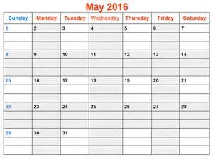 free may calendar template may 2016 weekly printable calendar printable calendar