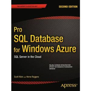 On Database 2nd Edition apress pro sql database for windows azure 2nd edition