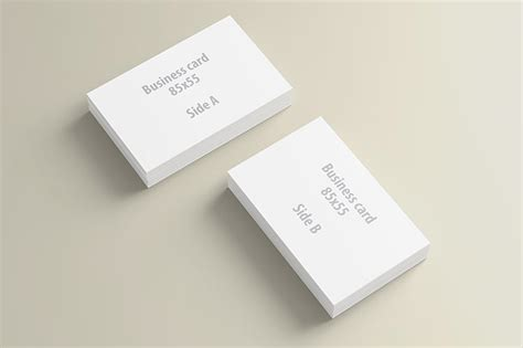 presentation cards templates business card presentation mock up template dealjumbo