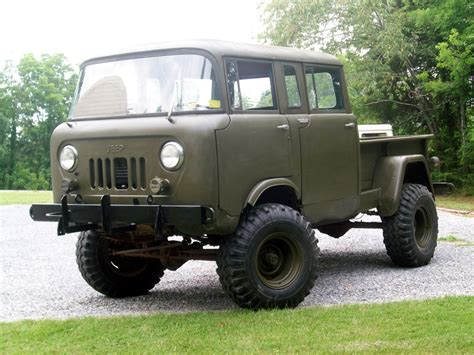jeep forward control van vintage monday the jeep willys forward control line
