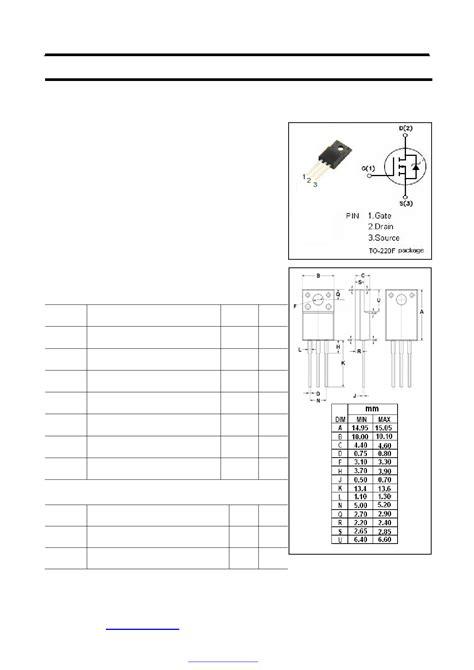 transistor mosfet 18n50 18n50 datasheet vdss 500v n channel mosfet transistor