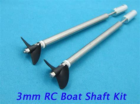 rc boat propeller shaft kit free shipping 3mm rc boat shaft kit drive shaft propeller