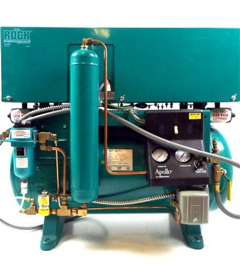 used dental air compressor apollo the rock r22 atlas resell management
