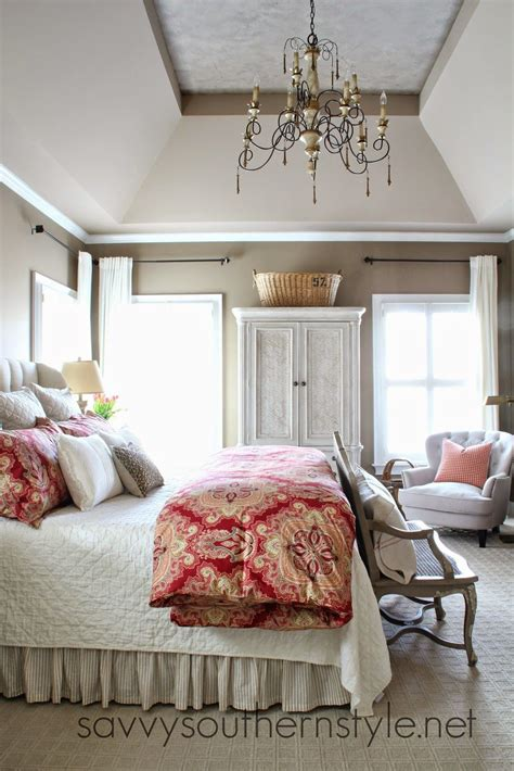 savvy southern style  color   master bedroom
