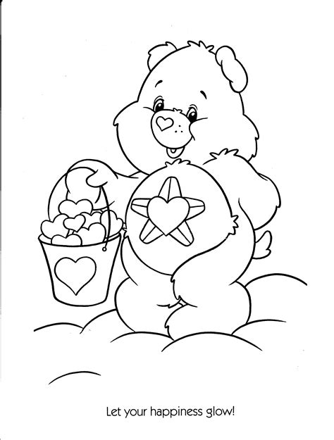 care bear coloring pages free free coloring pages of care bears cousins