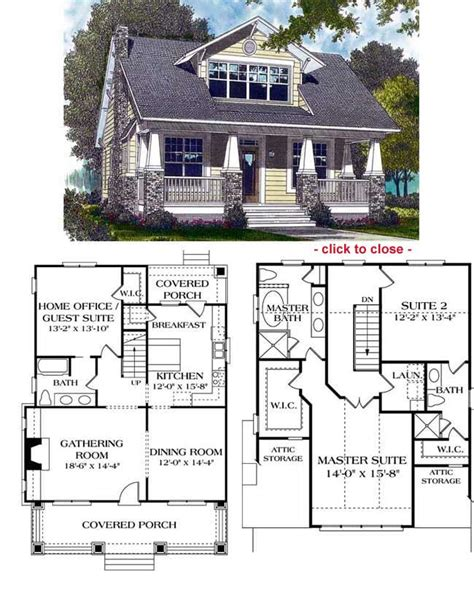craftsman style house floor plans arts crafts style home plans 171 floor plans