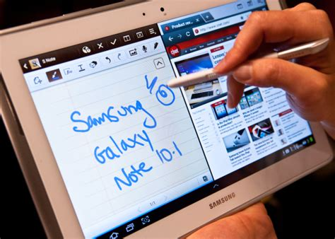 Samsung Tablet Galaxy Note 10 1 multitask with the samsung galaxy note 10 1 multi window