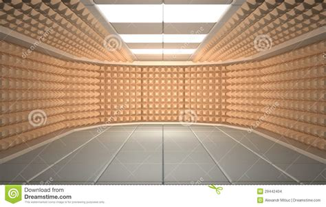Sound Proofing Room by Soundproof Room Stock Images Image 29442404