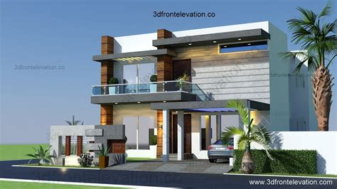 house design pictures 3d front elevation 10 marla houses design islamabad