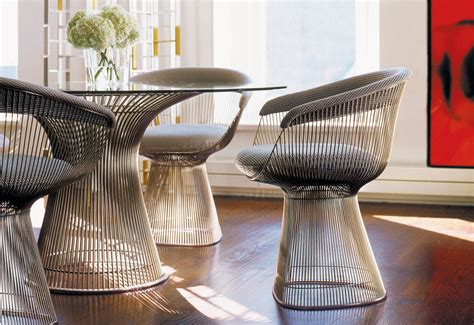 platner dining table designed  warren platner