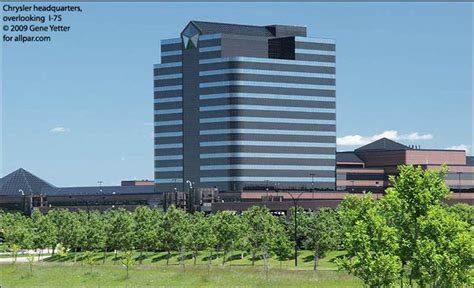 Chrysler Hq by Chrysler Technical Center Ctc State Of The