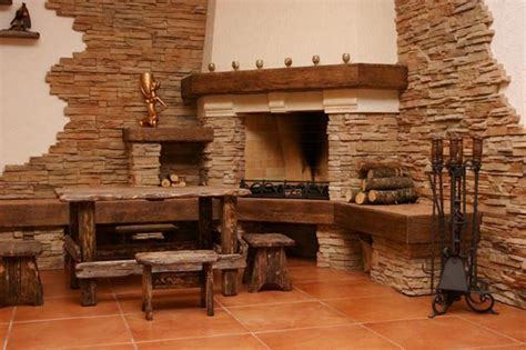 Stone Fireplace Hearths - make a stone fireplace without stone faux direct