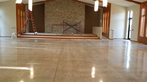 Polished Concrete Flooring Benefits And Beauty ? The
