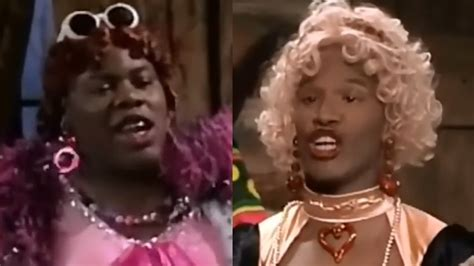 wanda in living color foxx in wanda and uglier in living