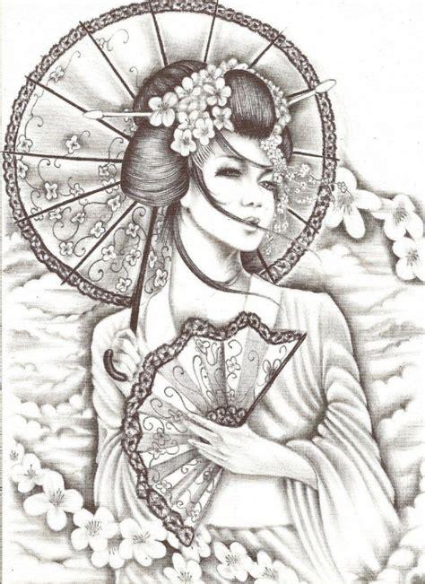 samurai geisha tattoo designs geisha samurai tattoo for my upper thigh tattoo ideas