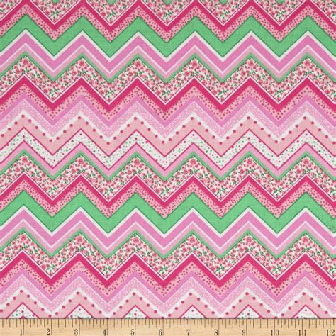 pink pattern upholstery fabric patterned chevron bright pink discount designer fabric