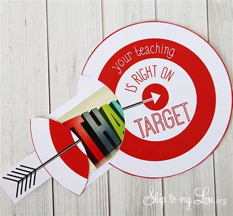 Target Gift Card Teacher Appreciation - printable teacher appreciation gift card holder skip to my lou