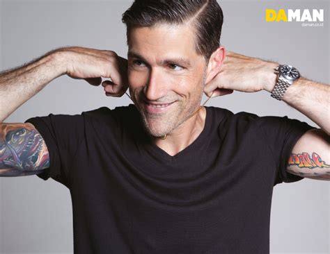 matthew fox tattoo exclusive fashion feature matthew fox da magazine