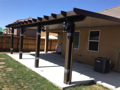 Inspiring Aluminum Patio Cover Materials #6 Metal Patio