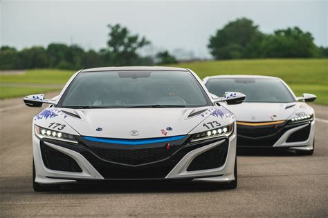 acura to race all electric nsx concept at this year s