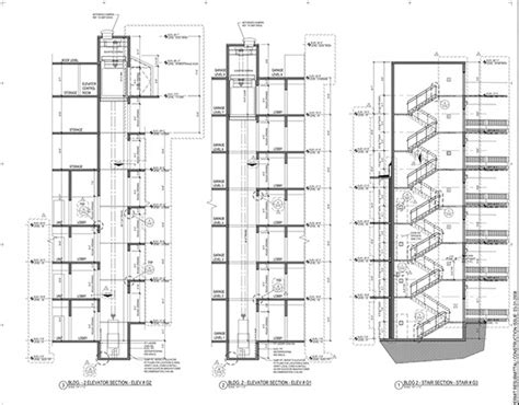 elevator section norfolk va belmont apts new bld 7 flrs on behance