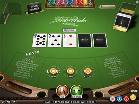 free let it ride table free let it ride casino casinogamesonnet com