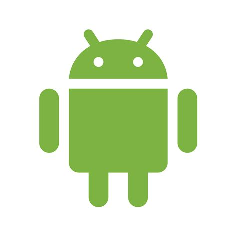android symbols android os icon free at icons8