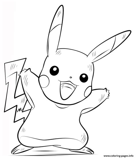 pikachu coloring pages pdf pikachu coloring pages printable
