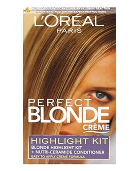 best home highlighting kits 2013 home highlighting kit l oreal perfect blonde creme the