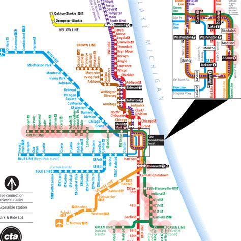 green line map chicago green line map chicago cta l