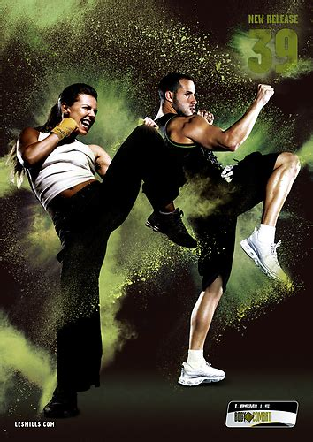 Boxy Comby totally les mills bodycombat