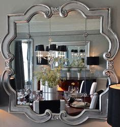 Silver Dining Room Mirrors Decor Mirror Mirror On The Wall On Decorative