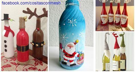 como decorar jarrones navideños pin de deko eventos b p en botellas decoradas