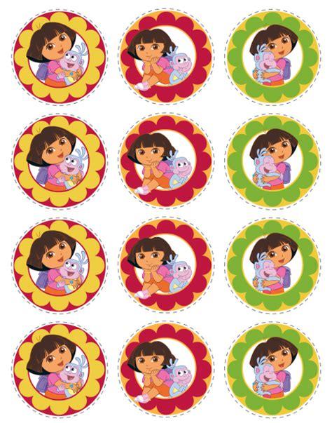 printable dora stickers dora the explorer free printables oh my fiesta in english