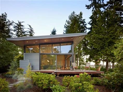 modern forest residence in port ludlow washington