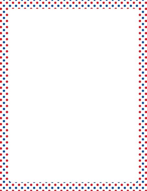 printable polka dot stationery 16 best borders and frames images on pinterest writing