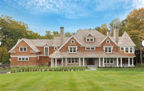 style mansions 5 995 million newly built shingle style mansion in