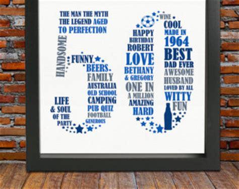 Mug Souvenir Bday 5 personalized birthday gift print 50th birthday 50th