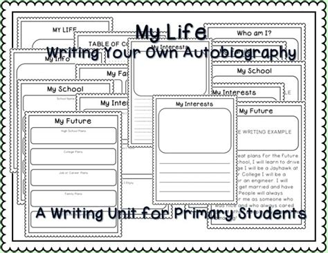 biography exle primary school writing your own autobiography about me writing papers